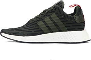 Originals NMD_R2 Mens Running Trainers Sneakers (UK 8 US 8.5 EU 42, Green Black White BY2500)