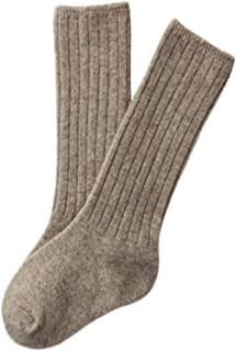 Lian LifeStyle Unisex Baby Children 6 Pairs Knee High Wool Blend Boot Socks 3 Sizes 14 Colors