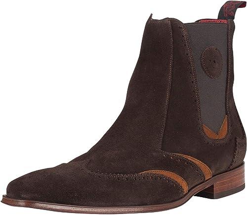 Jeffery West Hombre botas Precio del Poder, marrón
