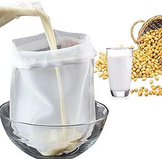 Eurobuy Brew Bag, Grote Herbruikbare Fijne Mesh Bag Micron Mesh Trekkoord Voedsel Zeef Tas voor Fruit Cider Apple Druif Wi...