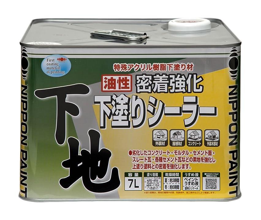 才能のある抜け目がないサワーニッペ 油性密着強化下塗シーラー7L 透明