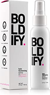 BOLDIFY Hair Thickening Spray - Get Thicker Hair in 60 Seconds - Stylist Recommended Hair Products for Women & Men - Hair ...