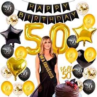 Best 50th birthday party table decorations Reviews
