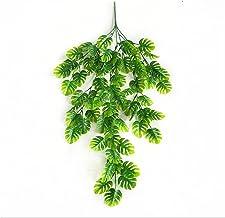 76 cm kunstmatige groene planten opknoping klimop bladeren radijs zeewier druif nep bloemen wijngarden huis tuin wand part...