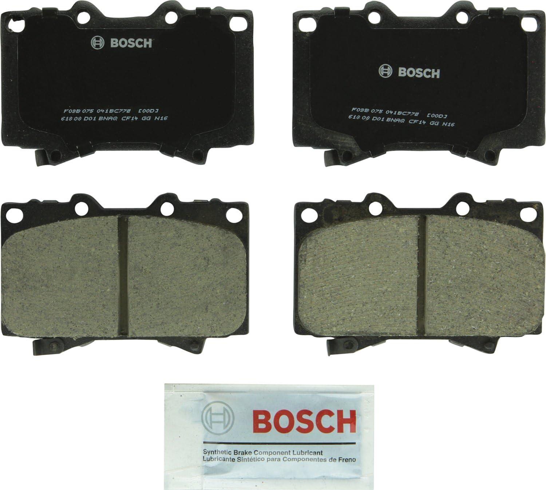 Disc Brake Pad Set-Quietcast Pads Rear Bosch BP272