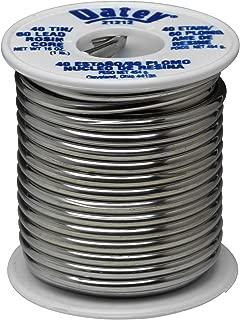 Oatey 21212 Rosin Leaded Core Solder, 1/8 In Dia, Silvery, 1 Lb, Grey