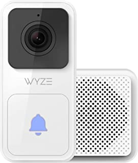 Wyze Video Doorbell (Chime Included), 1080p HD Video, 3:4 Aspect Ratio: 3:4 Head-to-Toe View, 2-Way Audio, Night Vision, H...