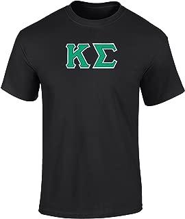 Fashion Greek Kappa Sigma Twill Letter Tee