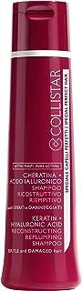 Collistar Shampoo Ricostruttivo Riempitivo , A base di Acido Ialuronico e Cheratina lascia i capelli morbidi, luminosi, fa...