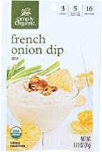 simply organic french onion dip ingredients