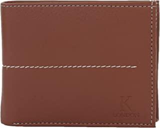 K London Men's Wallet (Brown) (1421_Brown)