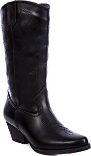 Women's Western Style Embroidered Cowboy Boot