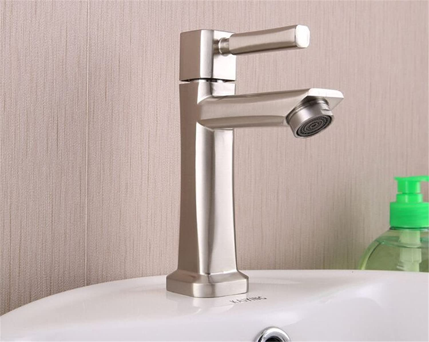 redOOY Taps Faucet Bathroom Faucet greenical Single Cold Basin greenical Single Cold Drawing Water Dragon