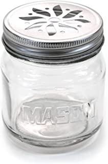 Dress My Cupcake Dress My Cupcake DMC93343 12-Pack Drinking Mason Jar Sippers with Flower Lid