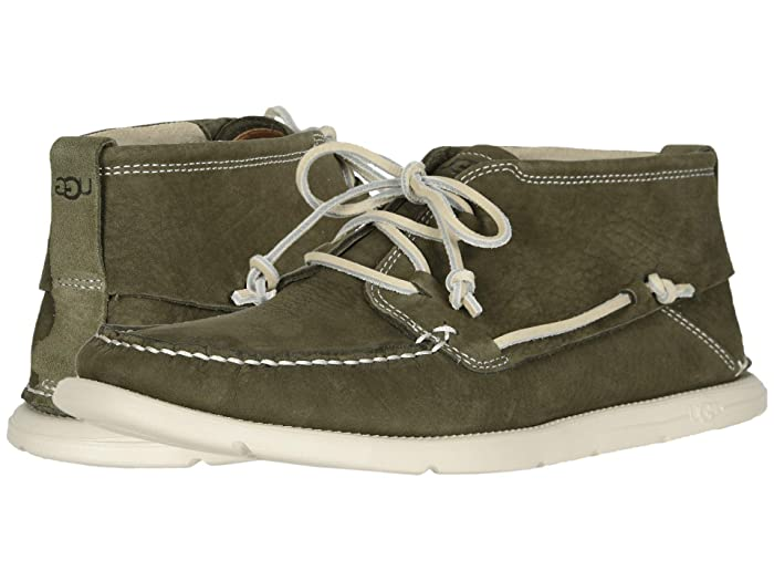 UGG  Beach Moc Chukka (Moss Green) Mens Shoes