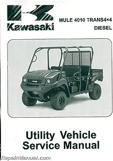 99924-1409-05 2009-2013 Kawasaki KAF950G H Mule 4010 Trans4x4 Diesel Side by Side Service Manual