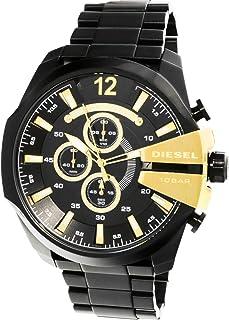 Diesel Men's DZ4338 Black Stainless-Steel Plated Japanese Quartz Fashion Watch