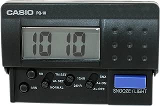 Best casio travel alarm clock pq10 Reviews