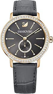 Swarovski Womens Quartz Watch, Analog Display and Leather Strap 5295389