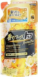 ライオン (LION) 香りつづくトップ Aroma Plus(アロマプラス) エレガントイエロー つめかえ用 320g ×10個セット