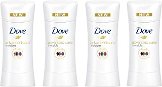 Dove Antiperspirant For Sweat Block Sheer Fresh 48-Hour Deodorant Protection 2.6 oz 4 count