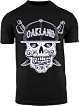 Mens Day of The Dead Sugar Skull Oakland California Mens Shirt