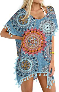 Women's Chiffon Swimsuit Beach Bathing Suit Cover Ups for...