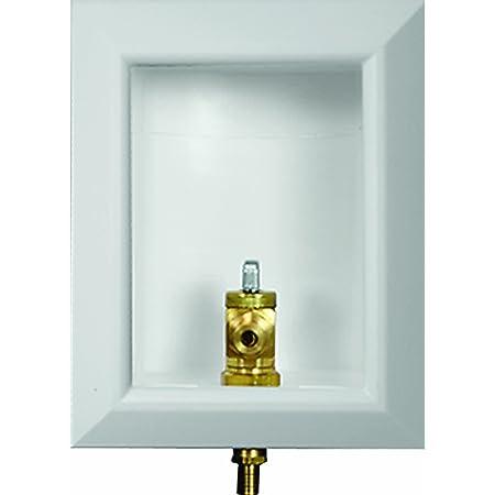 Viega 97100 PureFlow Zero Lead OX BOX PEX Press Ice Maker Outlet Box with 1/2-Inch Press Valve, 10-Pack