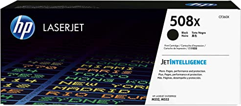 HP 508X | CF360X | Toner Cartridge | Black | High Yield