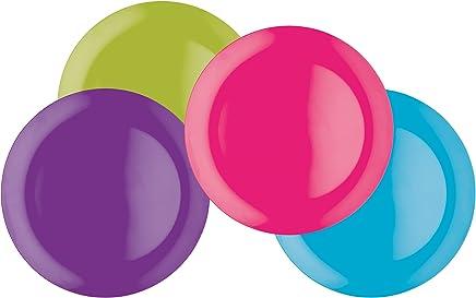 Preisvergleich für Colourworks Vierteiliges Melamin-Essteller-Set, 28cm