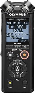 Olympus Ls-P4 Hi-Res Ljudkamera med Tresmic 3-Mikrofonsystem, Svart,