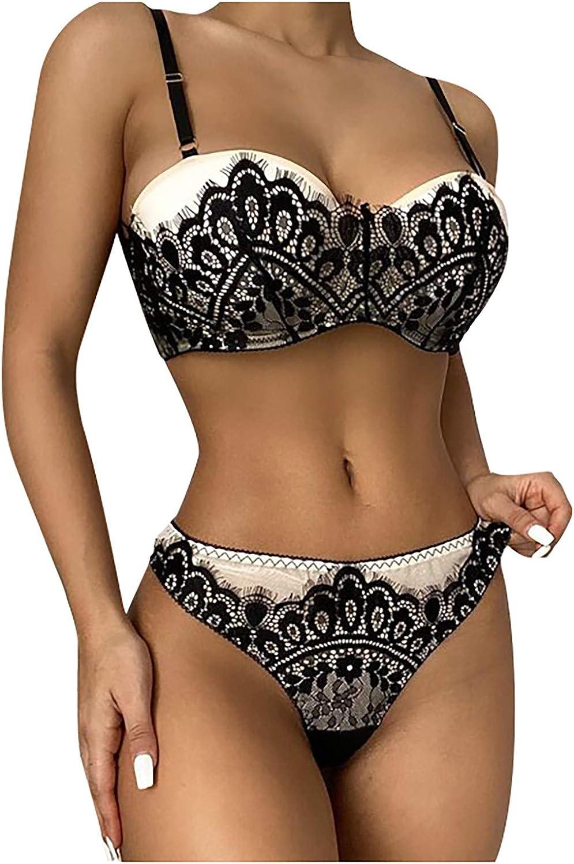Lingerie Off Shoulder for Women Tie Lingerie Set Sexy Lingerie Teddy Babydoll Bodysuit Lace Pole