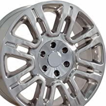 OE Wheels 20 Inch Fits Ford Expedition F150 Lincoln Mark LT Navigator Expedition Style FR98 Polished 20x8.5 Rim Hollander 3788