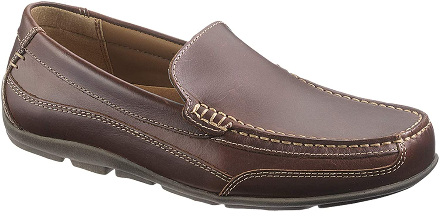 Sebago Men's Captain Pull Up Loafers Brown in Size US