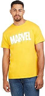 Marvel Text Logo Camiseta para Hombre