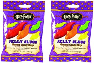 Jelly Belly Harry Potter Jelly Slugs Gummi Candy Slugs 2.1 oz (Pack of 2)
