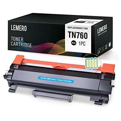 LEMERO (with IC CHIP) Compatible Brother TN760 ...