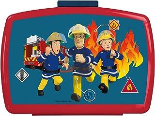 OSP p:os 26361099 Premium Lunch Box with Insert Fireman Sam Approx. 16 x 12 x 6.5 cm