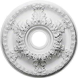 Ekena Millwork CM18GA Ceiling Medallion, Primed