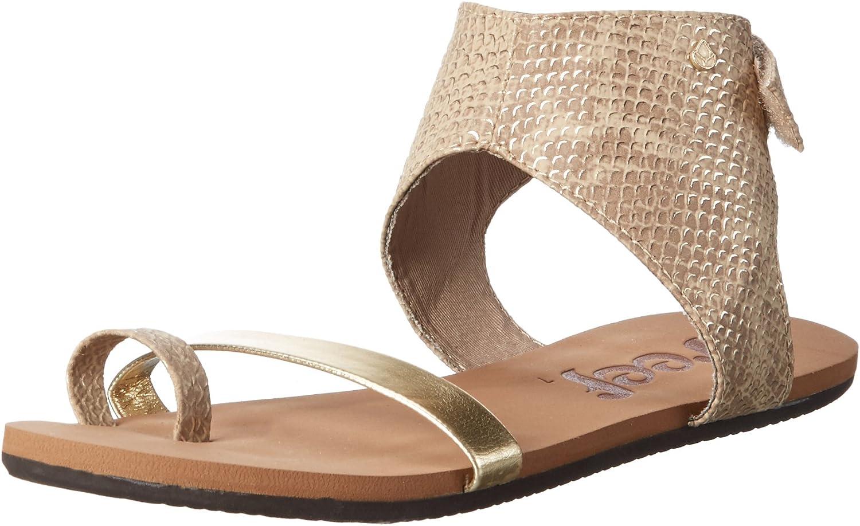 Reef Womens Hampton Sandal Flip Flops Slipper Footwear gold