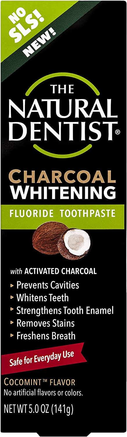 2021 autumn and winter new Natural Wholesale Dentist Charcoal Whitening Fluoride 5 Ounce Toothpaste