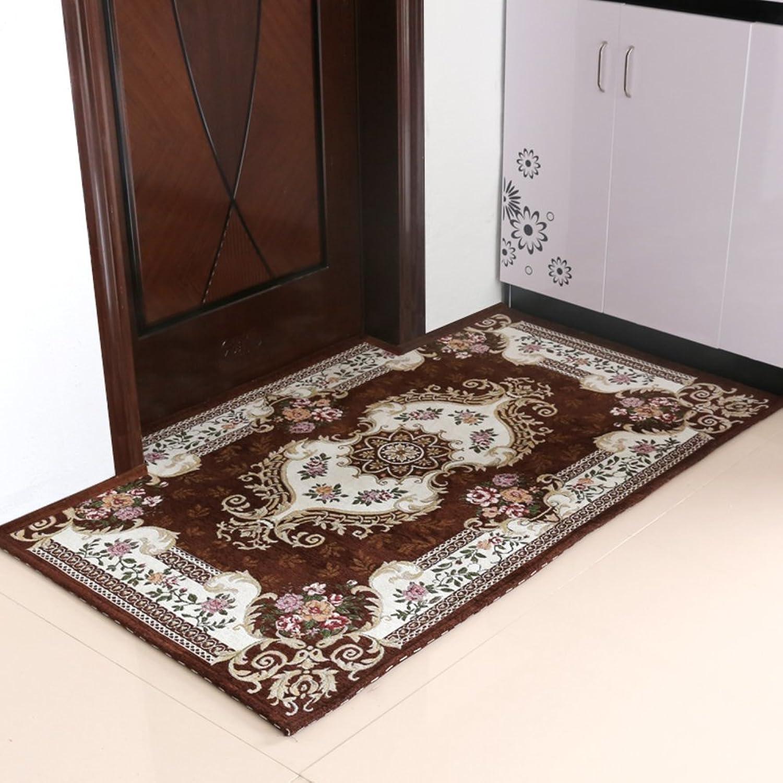 European-Style Entrance Door mats doormats Household Living Room Floor mats-F 90x140cm(35x55inch)