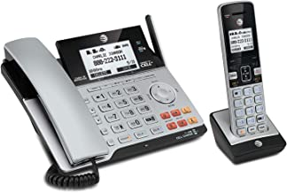 AT&T TL86103 DECT 6.0 Connect to Cell 2 Line Answering System with Caller ID/Call Waiting, 1 Corded & 1 Cordless Handset, ... photo