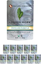 Functional Formularies Liquid Hope Peptide Organic Tube Feeding Formula and Nutritional Meal Replacement Supplement, 12 Pack