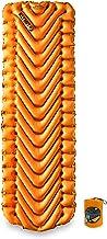 Klymit Insulated Static V LITE 4 Season Sleeping Pad, Orange/Gray