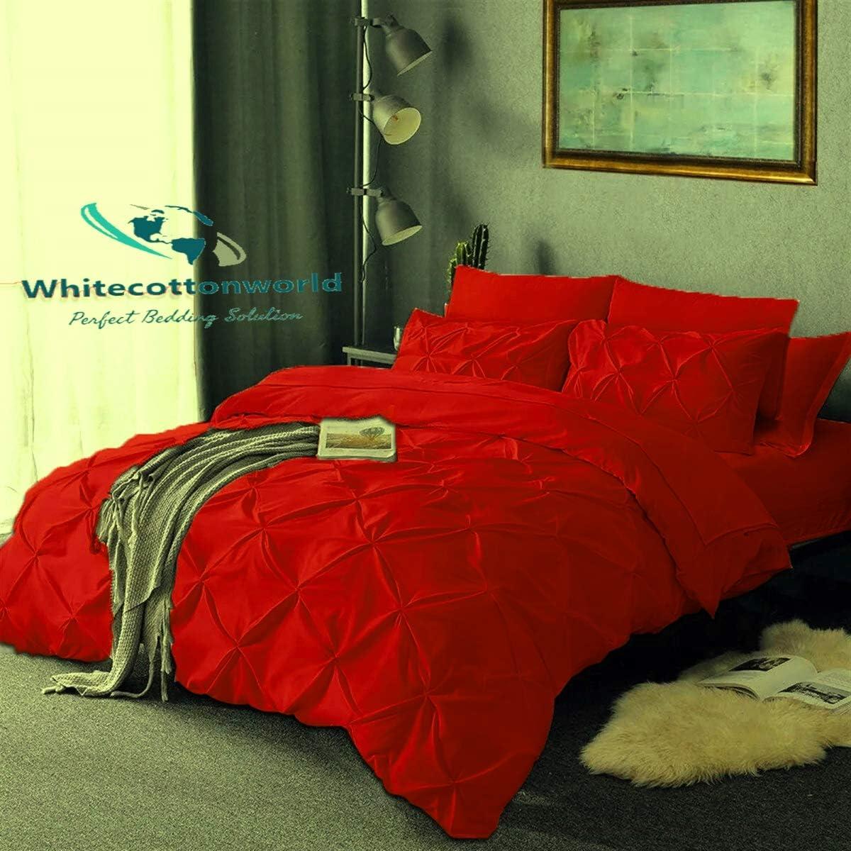 Bargain Whitecottonworld 800 Max 58% OFF Thread Count Egyptian Cotton Queen 90x Full