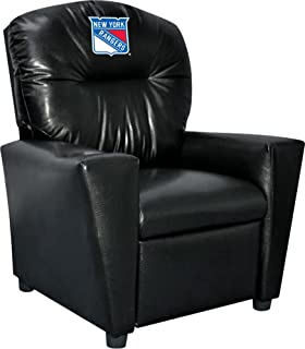 Imperial Officially Licensed NHL Furniture: Youth Faux Leather Recliner