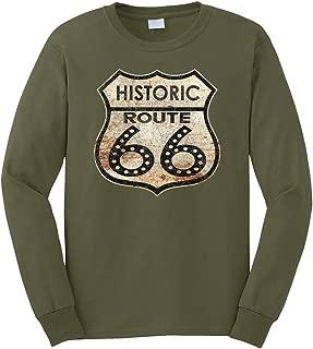 Men's Historic Route 66 Long Sleeve T-Shirt