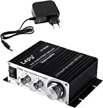 LEPY 2020A HiFi (2X 20 Watt) Stereo Design Verstärker für MP3/Handy/DAC schwarz