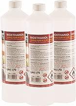 30 x 1 L bioéthanol premium 100% pour cheminée - FRAIS DE PORT OFFERT - bouteilles de 1 L